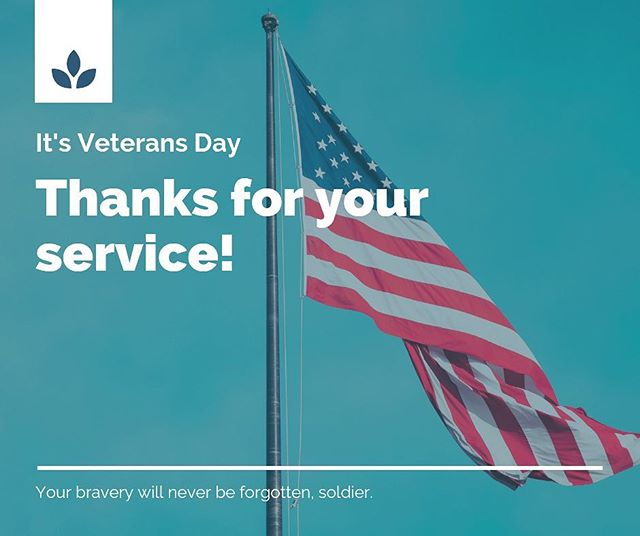 We thank you! . . #veteransday #support #celsiuscryospa