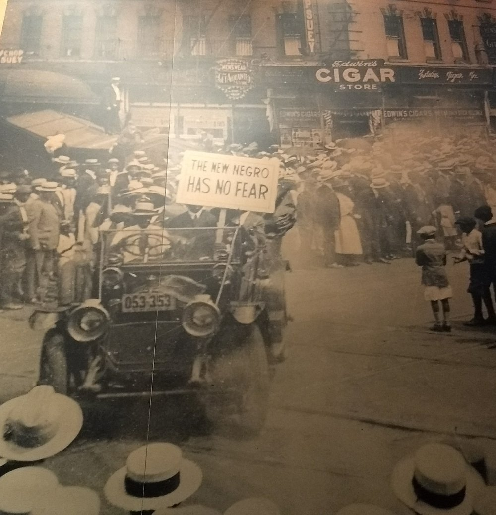 Early protest photo