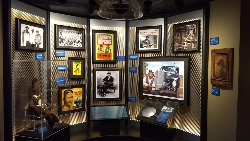 Early Blues Exhibit at the Blues Hall of Fame