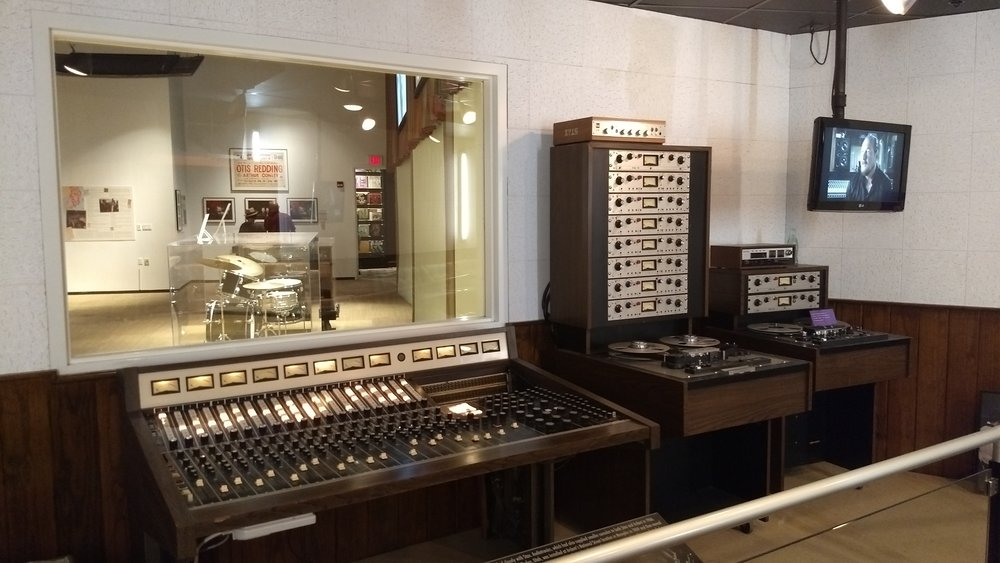 Historic Audiotronics console. Some of the artists mixed on this board include Isaac Hayes, Led Zeppelin, James Taylor, John Prine, the Staple Singers and The Cramps.