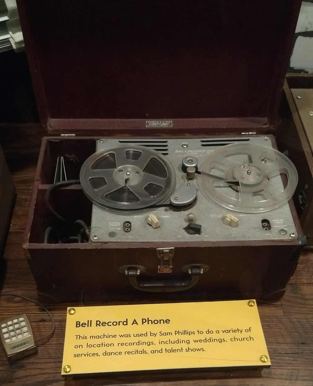 Early recording device