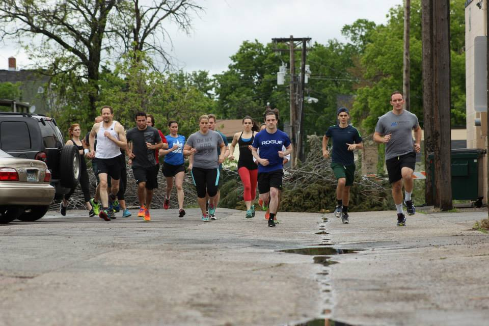 "Heat 1 taking off on Memorial Day ""Murph"""