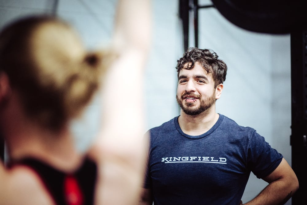 """Here at CrossFit Kingfield, I've learned to fail with a better attitude. In my failures, I've grown and learned to succeed in ways I never dreamed possible."""