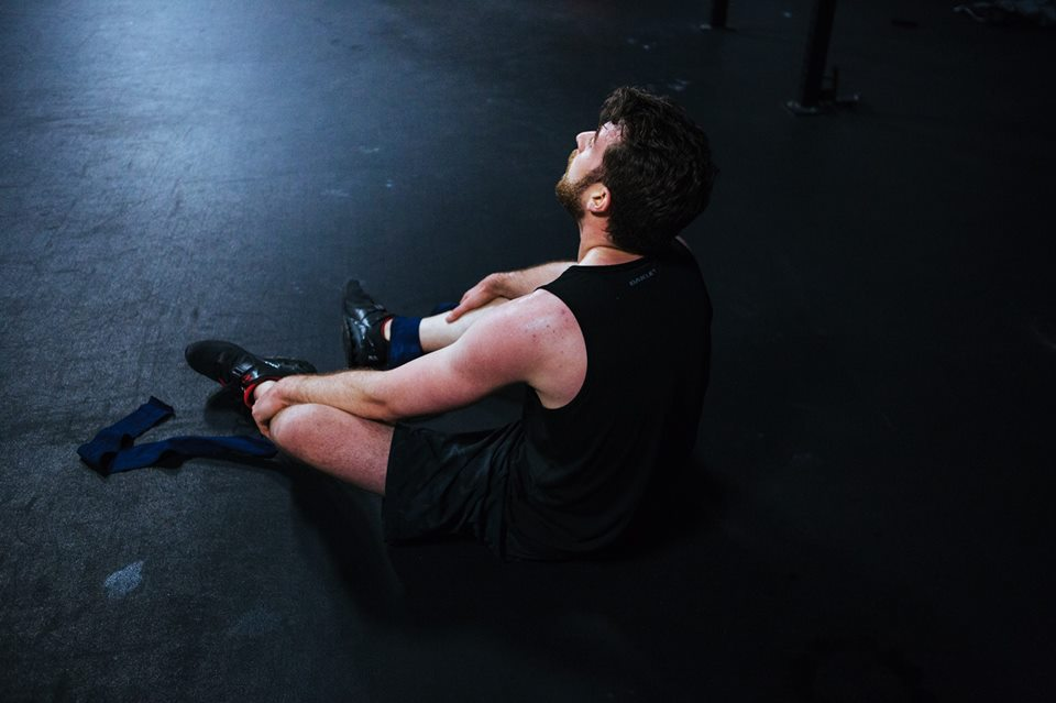 Jeremy post CrossFit Open work out 16.4.