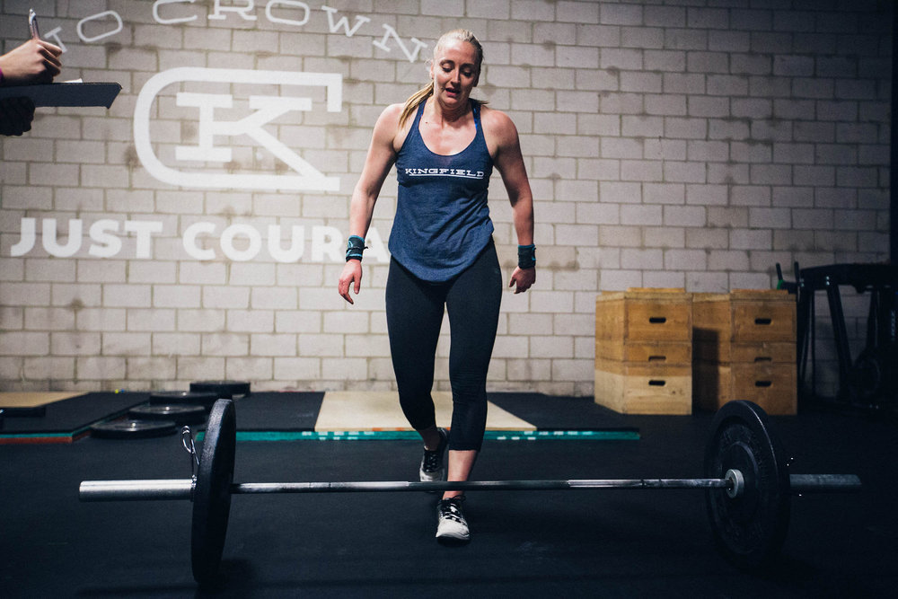 """I have fallen in love with training instead of just playing sports, and it has given me a community that loves fitness and pushes me and everyone else outside of their comfort zone."""