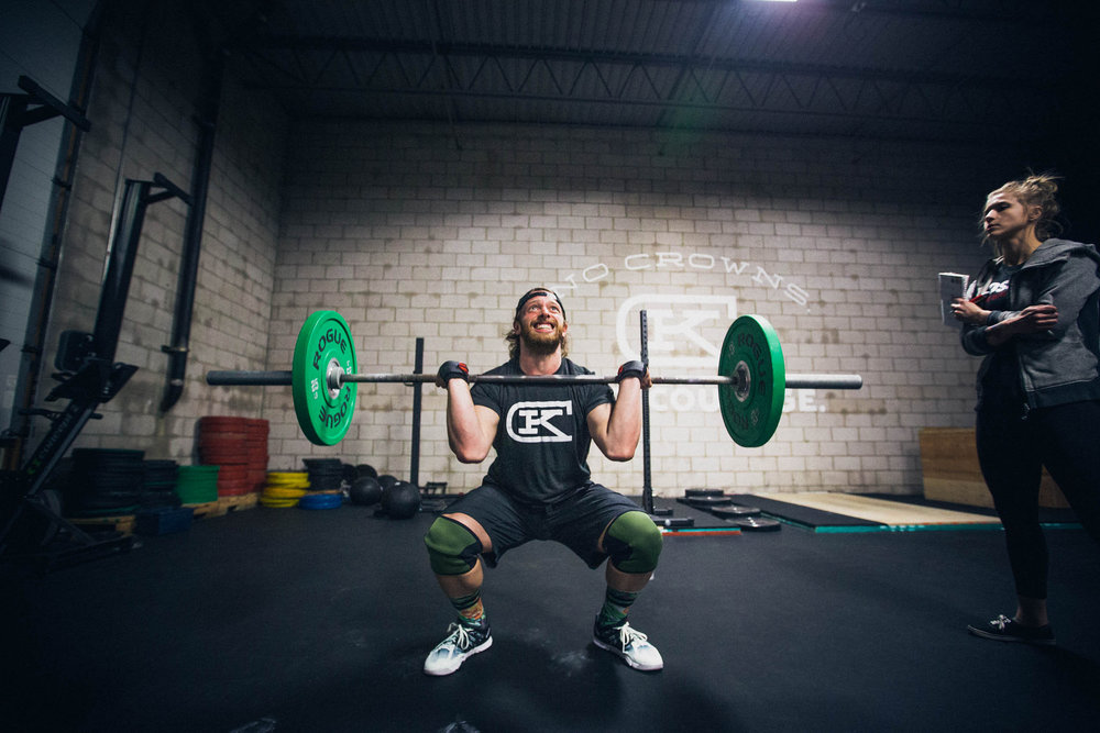 Alex T. digging in on some thrusters.