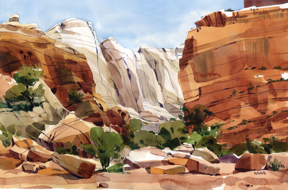 Capitol Reef, Grand Wash Trail