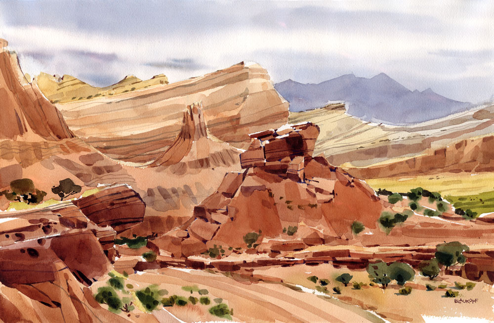 Capitol Reef, Waterpocket Fold