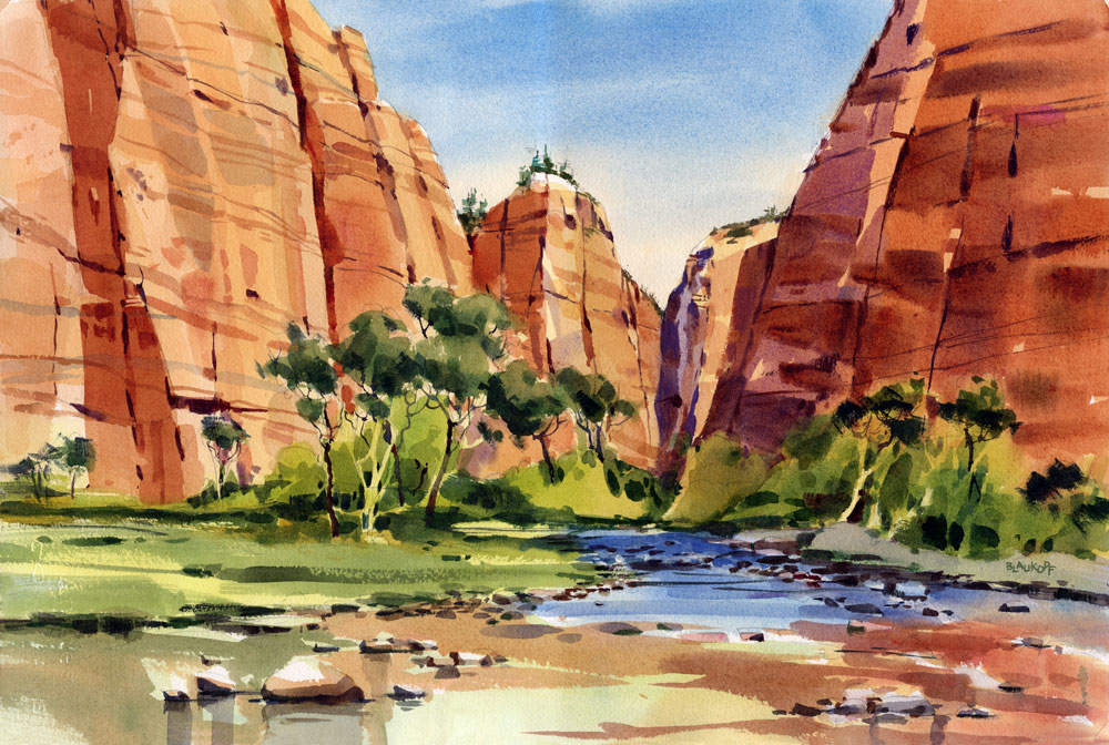 Zion, Virgin River