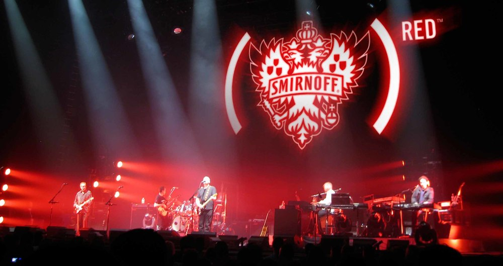 A Smirnoff (RED) Night event.