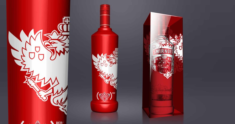 Limited edition packaging for different markets. Every purchase leads to a (RED) donation.