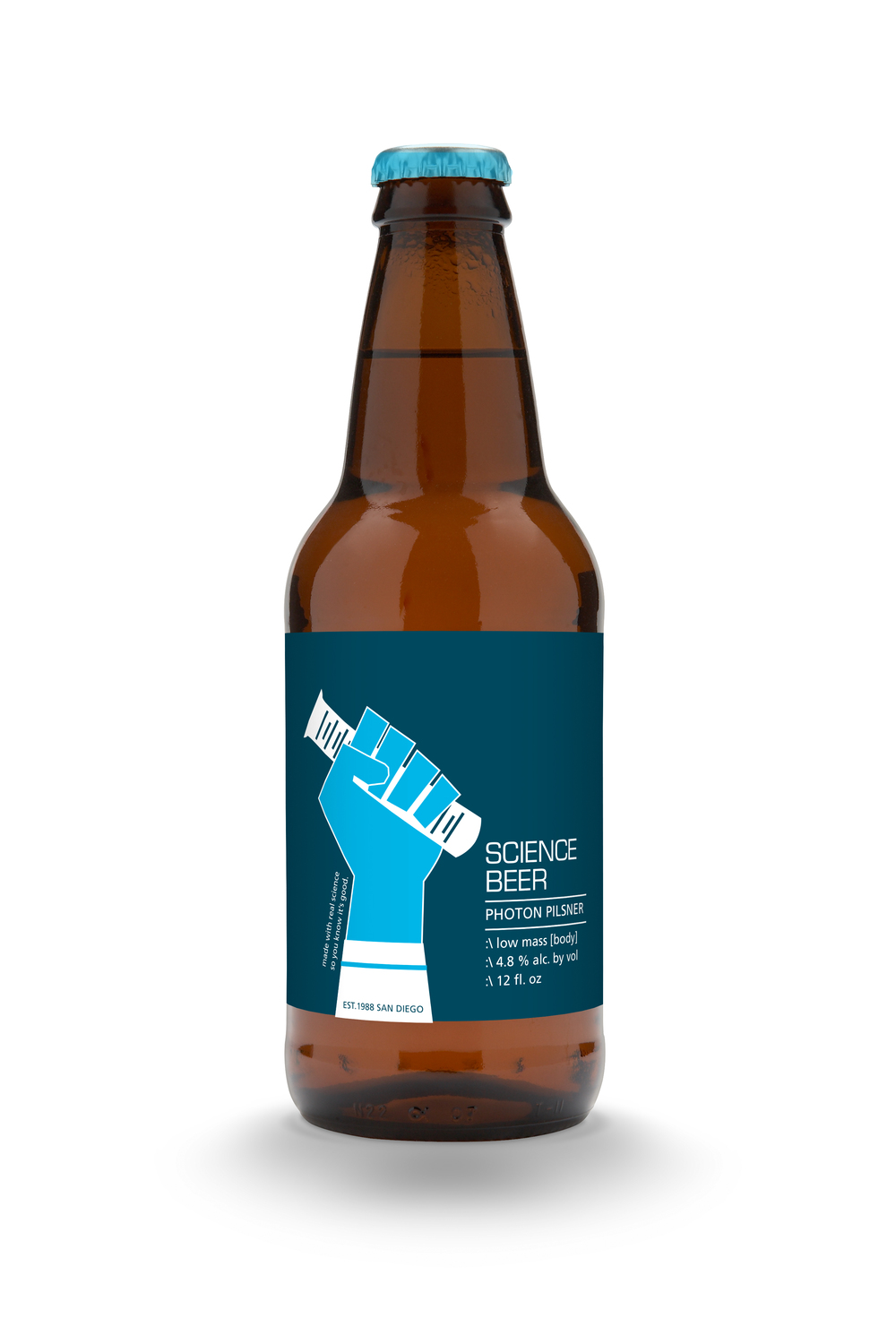 science beer blue
