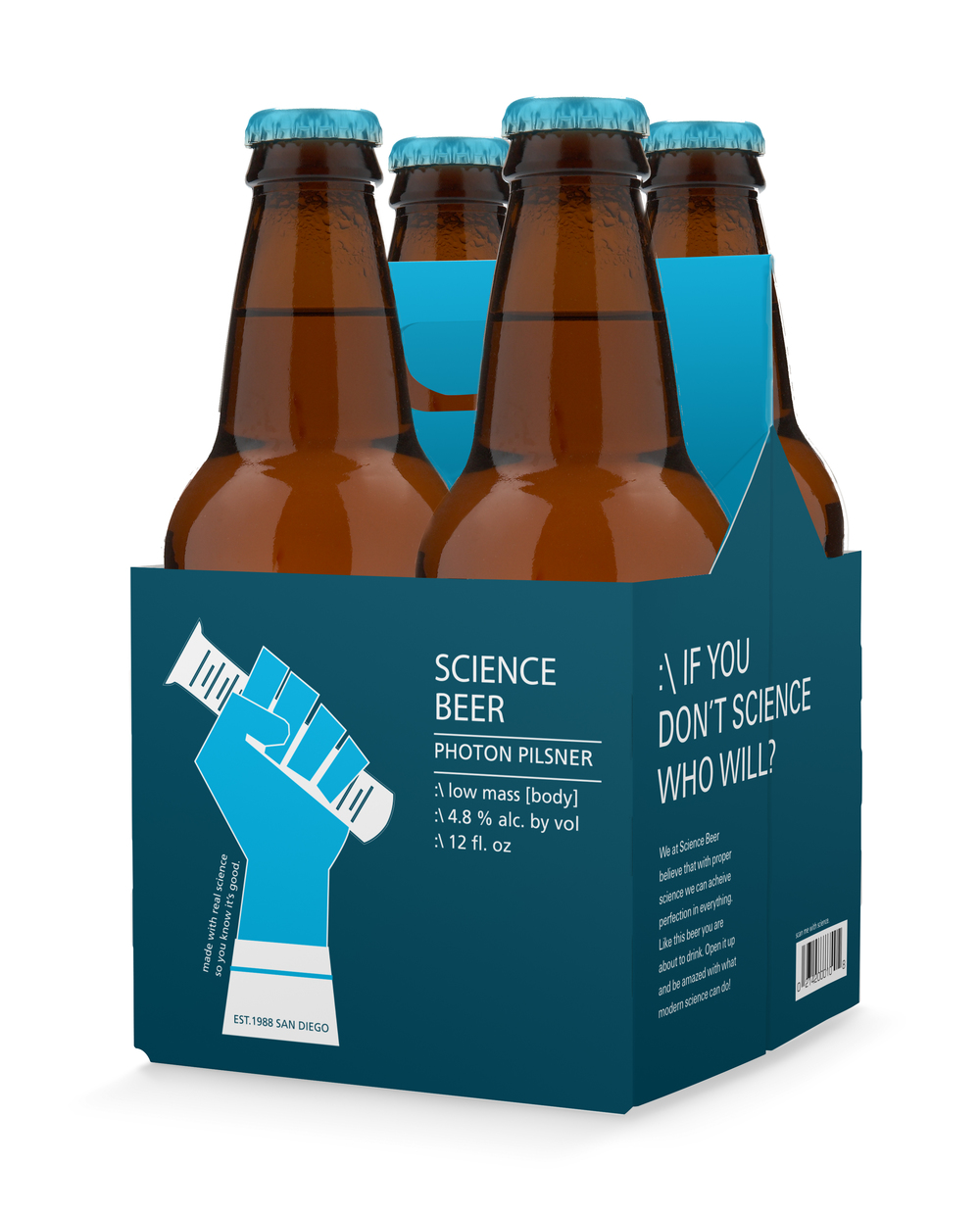 science beer four pack