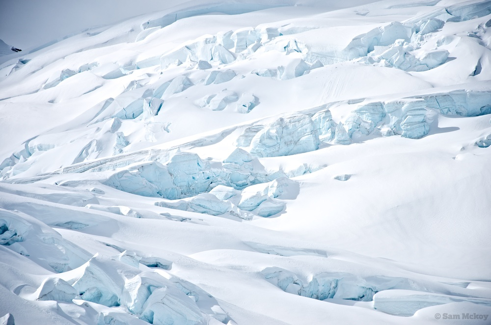 Icefall below Fyles.