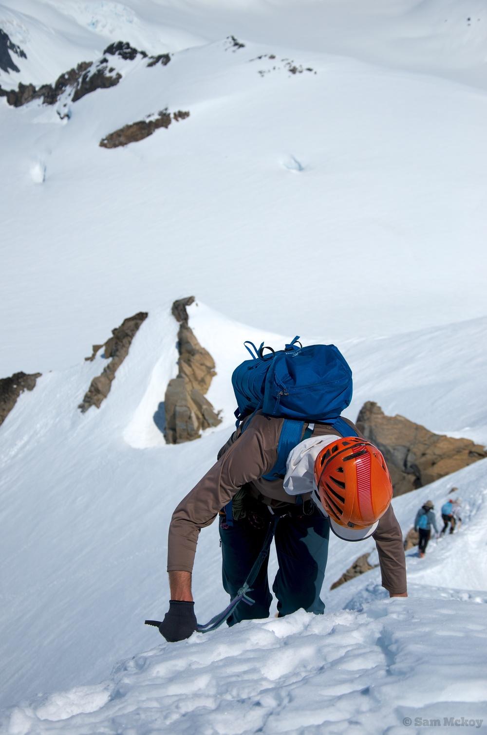 Tim descending from Somolenko.
