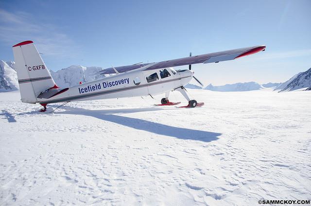 The ski plane