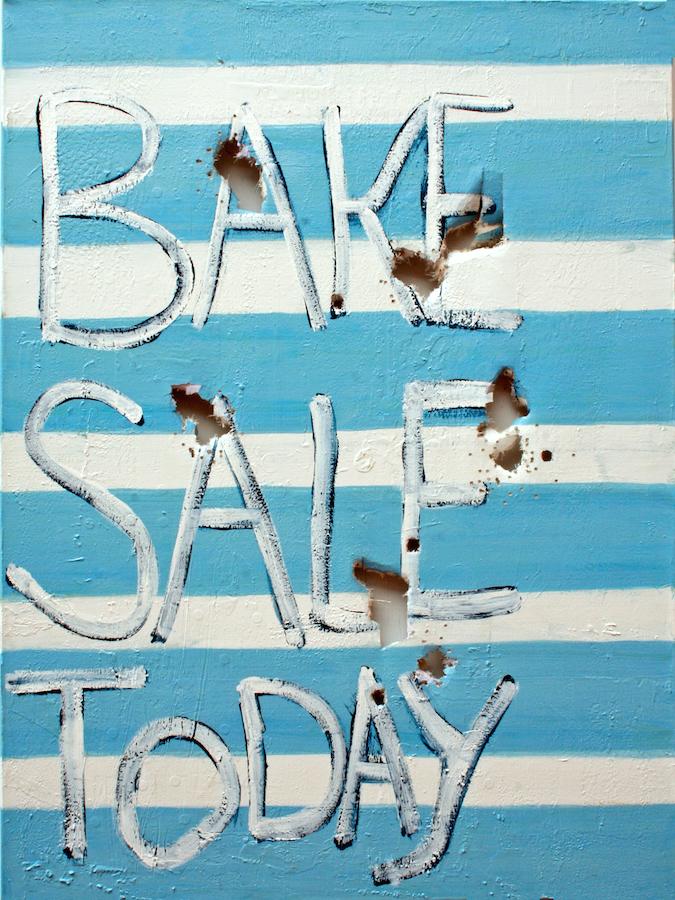 Blue Bake Sale