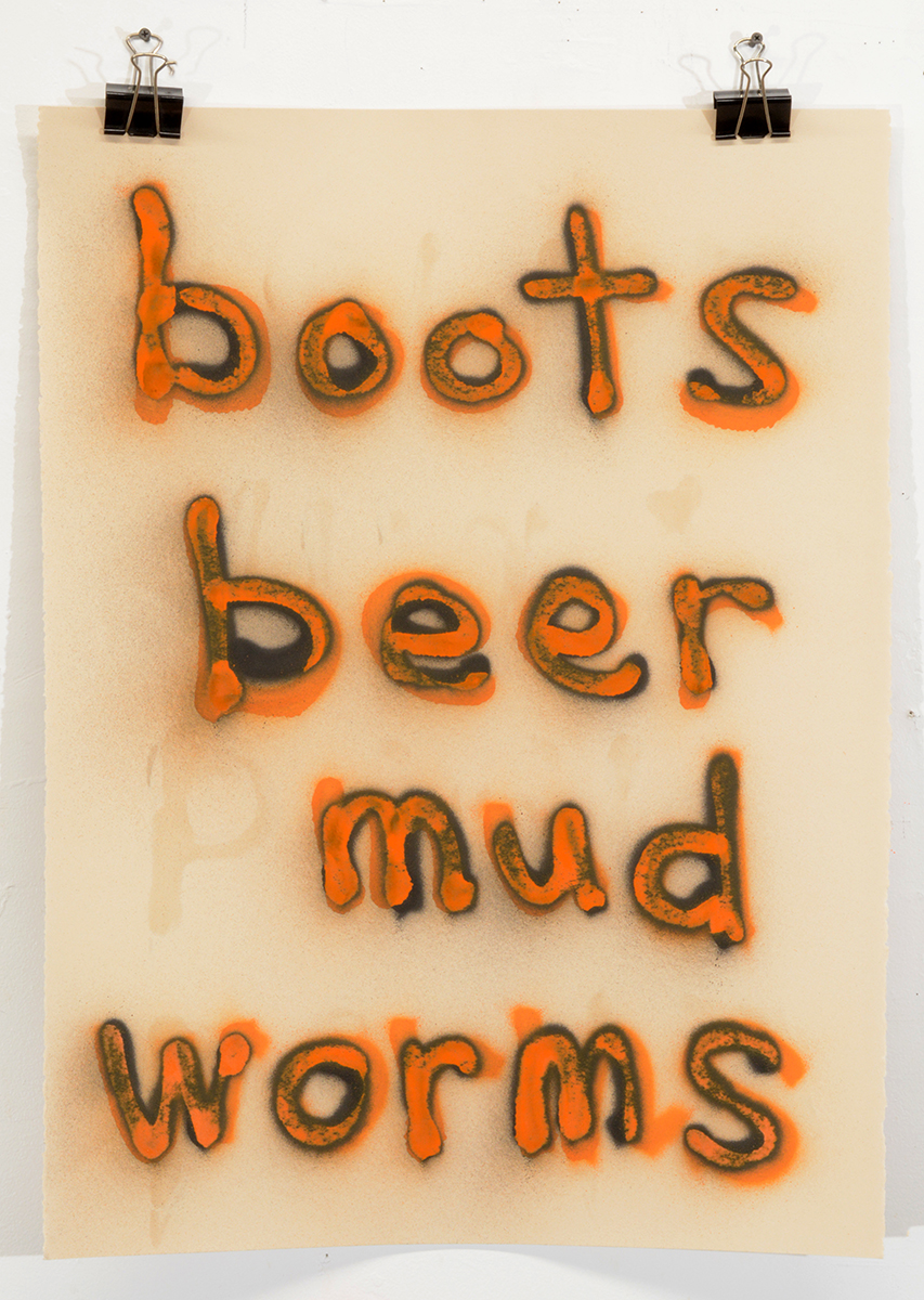 BootsBeerMudWorms