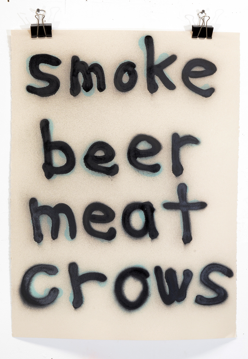 Smoke Beer Meat Crows