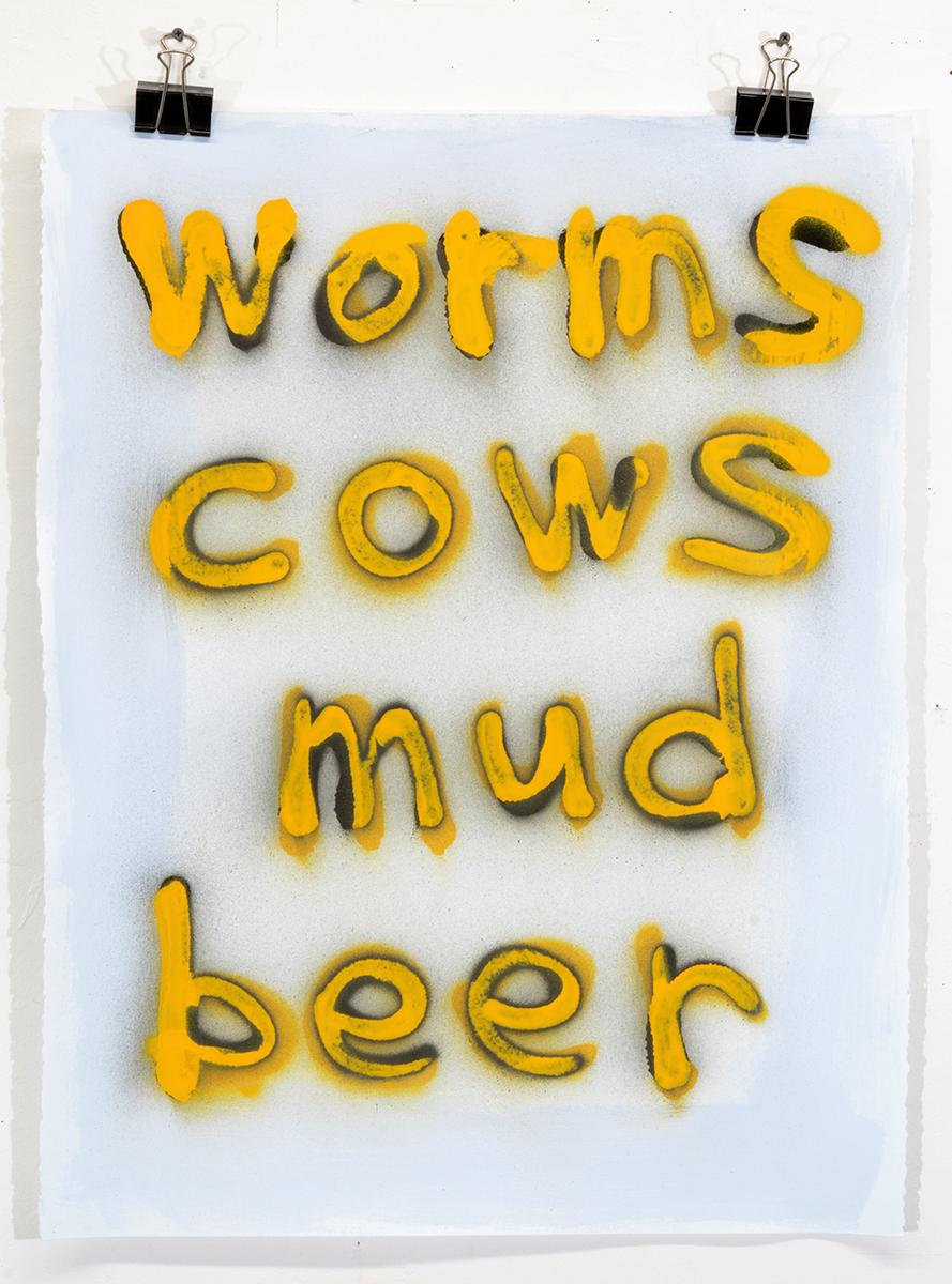Worms Cows Mud Beer