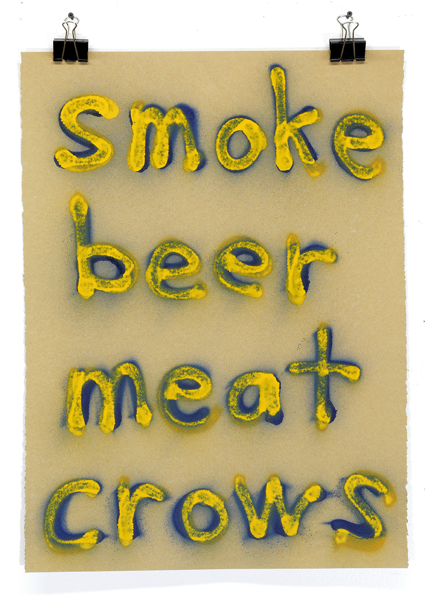 Smoke Beer Meat Crows