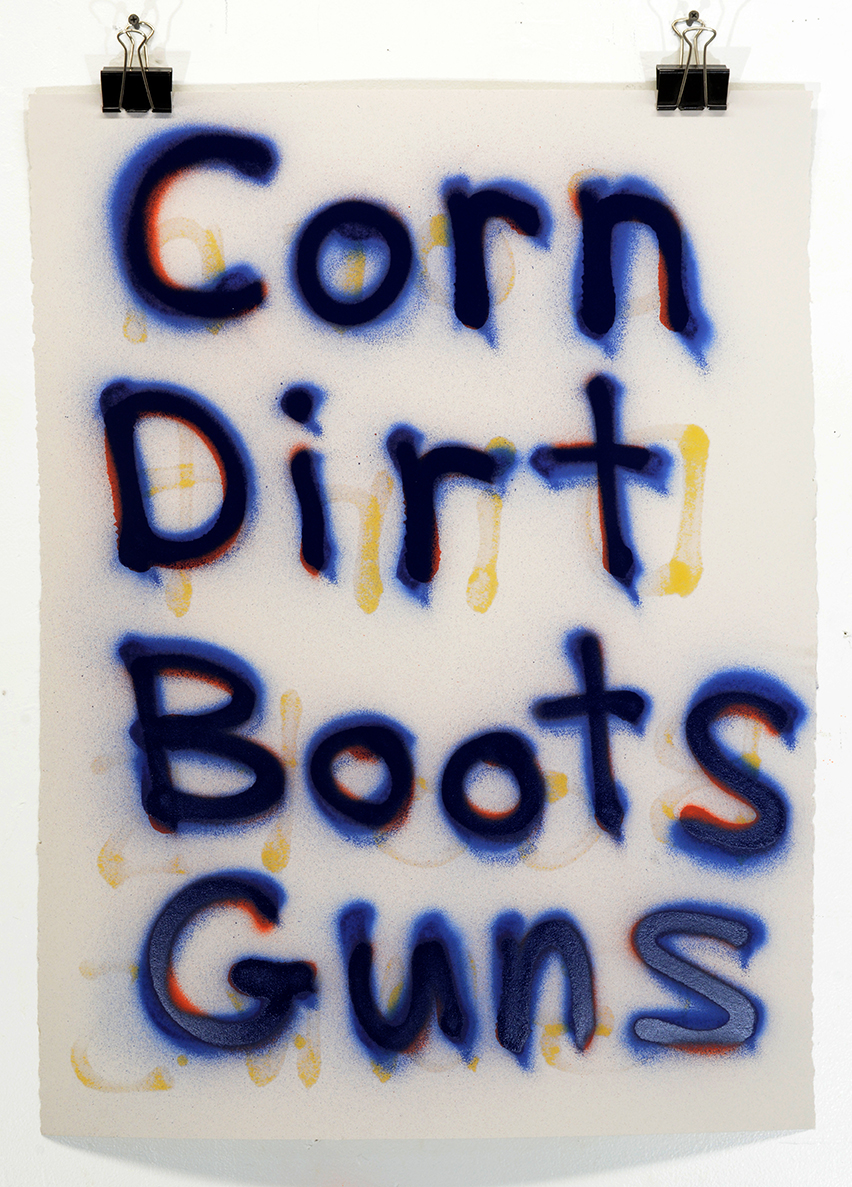 Corn Dirt Boots Guns