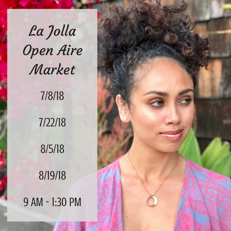 Summer days at the market are the best! Check out the latest additions to our eco-friendly pop up boutique! All items are always 100% VEGAN too because we believe that fashion and beauty should never bring harm to our animal friends!   7335 Girard Ave La Jolla, CA 92037