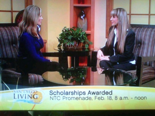 Representing FCC College during a live TV interview on  SD Living