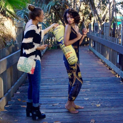 Styling a photo shoot for  Malia Designs