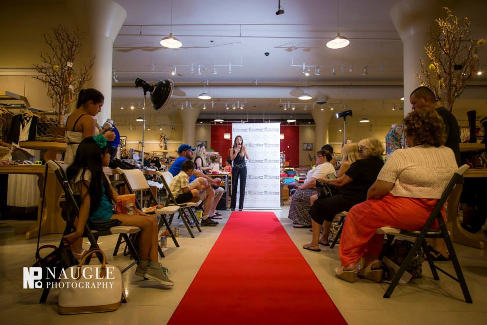 "Hosting the ""Summer Fling"" Fashion Show at Plaza Bonita Mall"