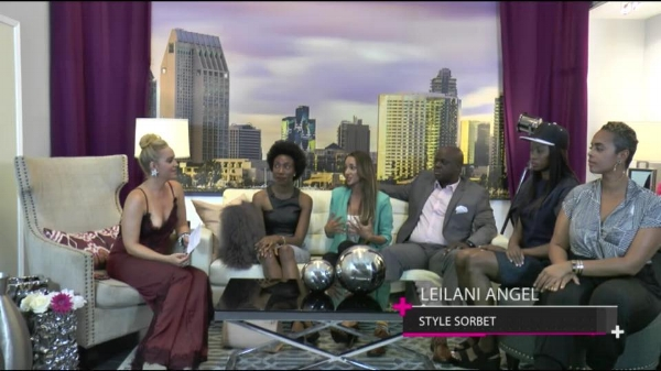 """Discussing our """"Trendy Thursdays"""" fashion, beauty + art pop up event on  The Pulse  TV show to benefit  A.R.T.S."""