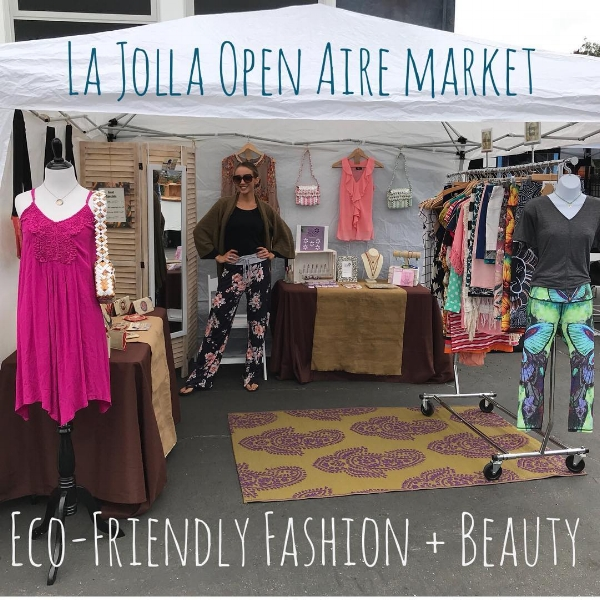 My curated pop up shop featuring Rescued Fashion, Ethically Made Fashion, Vegan Cosmetics + Fair Trade Accessories