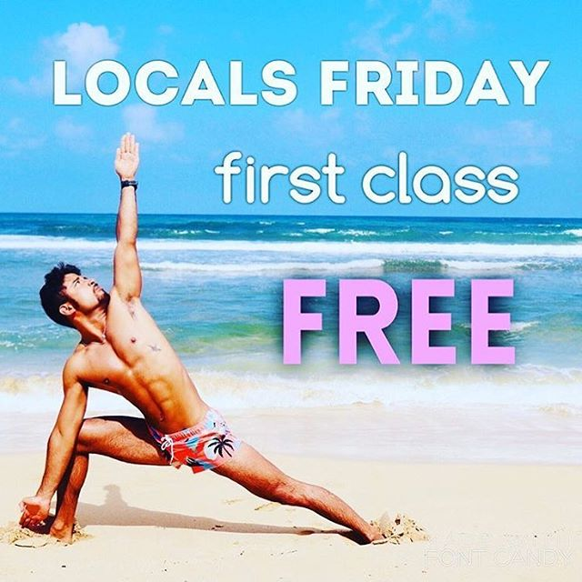 #Kauai local residents get their FIRST class FREE on FRIDAY's at my #Kapaa studio location! ✨Come try #BikramYoga for the first time during any of our regularly scheduled Friday sessions at 6:30 am 9:15am and 6:00 pm. Arrive 15-20 mins early with an open heart an open mind and be ready to sweat. New students please do not bring cell phones or any other personal items into the yoga room 😊 Leave your baggage outside 🙏 If you have any serious health issues please tell the teacher what you think they should know. Mahalo. Follow our studio @bikramyogakauai 💜 #kauaiyoga #BikramYogaKauai #kauai #kapaa #princeville #kilauea #lihue #kauaihotyoga #hotyoga #kauailife #luckywelivehawaii #luckywelivekauai