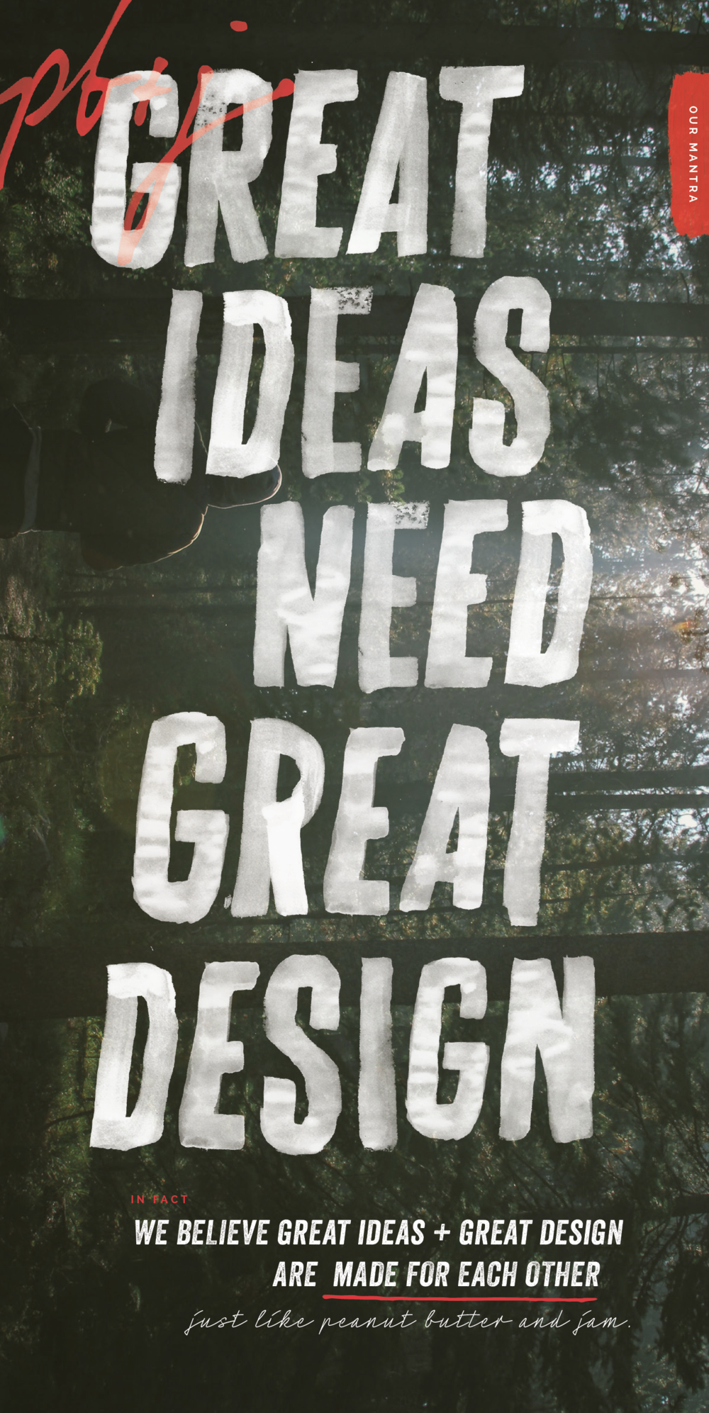 Great Ideas need great design
