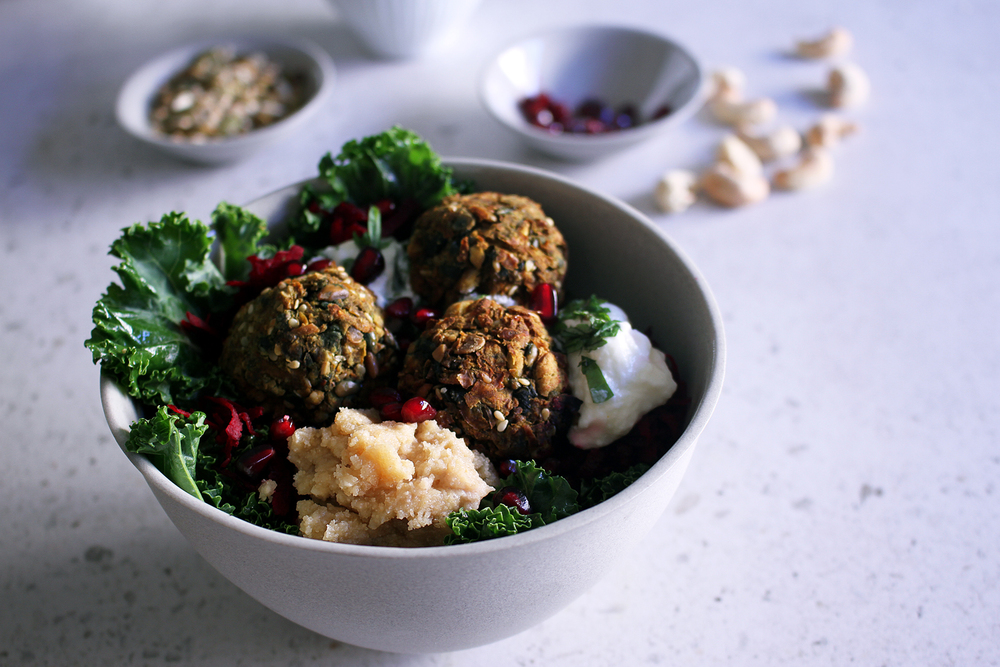 Carrot & Cumin Falafel⎜The Botanical Kitchen
