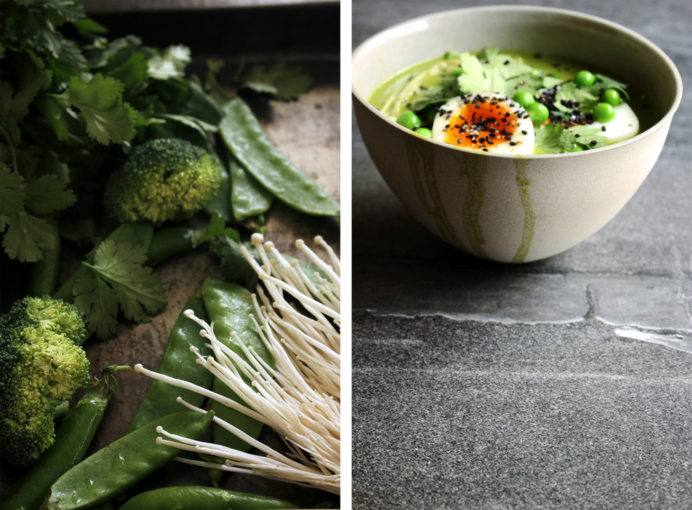 Cilantro & Coconut Broth⎜The Botanical Kitchen