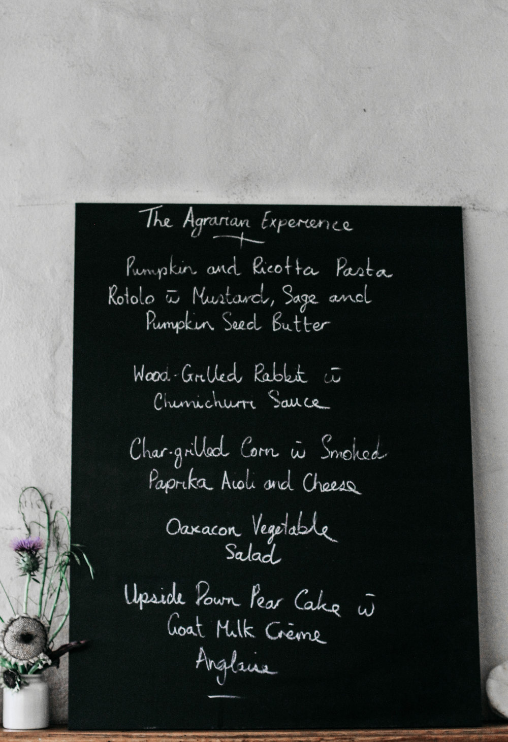 The Agrarian Kitchen⎜The Botanical Kitchen