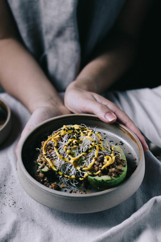 Open Faced Avocados⎜The Botanical Kitchen