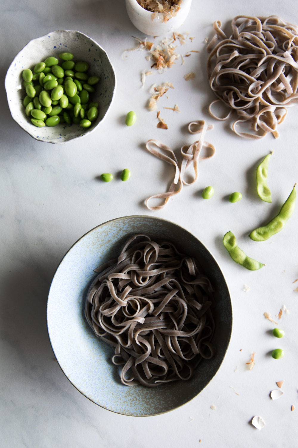Warm Japanese Soba Bowl⎜The Botanical Kitchen