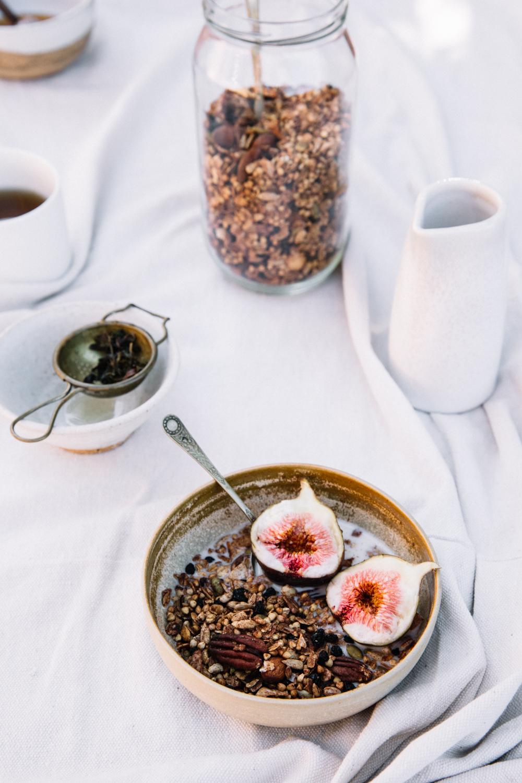 Cacao & Fig Granola⎜The Botanical Kitchen