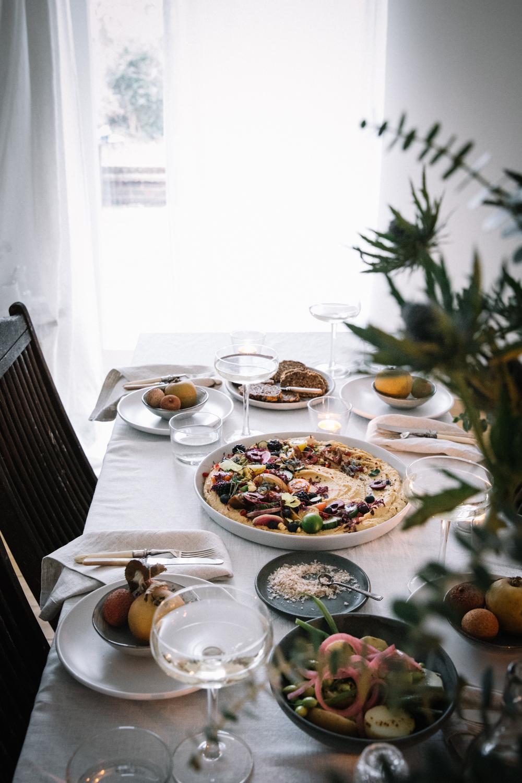 Cashew & Miso Hummus w/ Market Bounty⎜The Botanical Kitchen