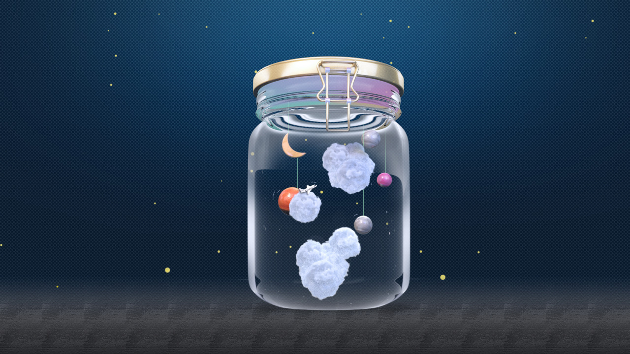 18 June 2015 - Galaxy in a jar