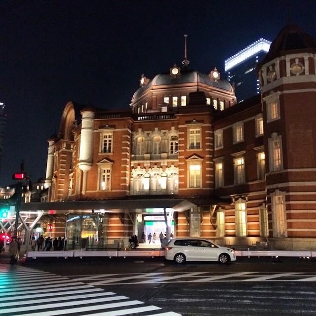 Last night in Tokyo.. We will be back.. 😭  #tokyo #tokyostation #japan #travel #nofilter