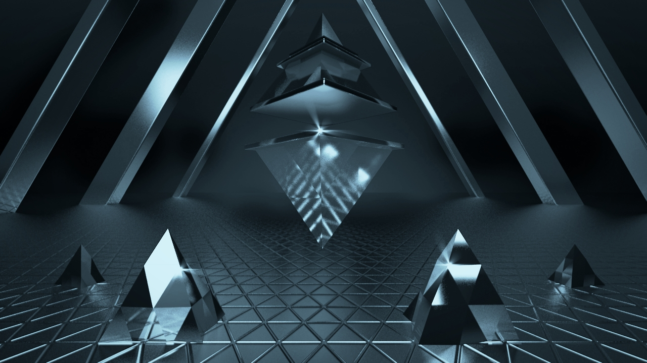 15 January 2014    Pattern and simple shapes    3.5 hours. Cinema4D, Photoshop, MagicBullet Looks.