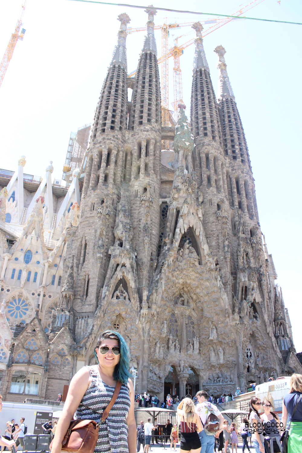 Sagrada Familia (Barcelona,Spain)