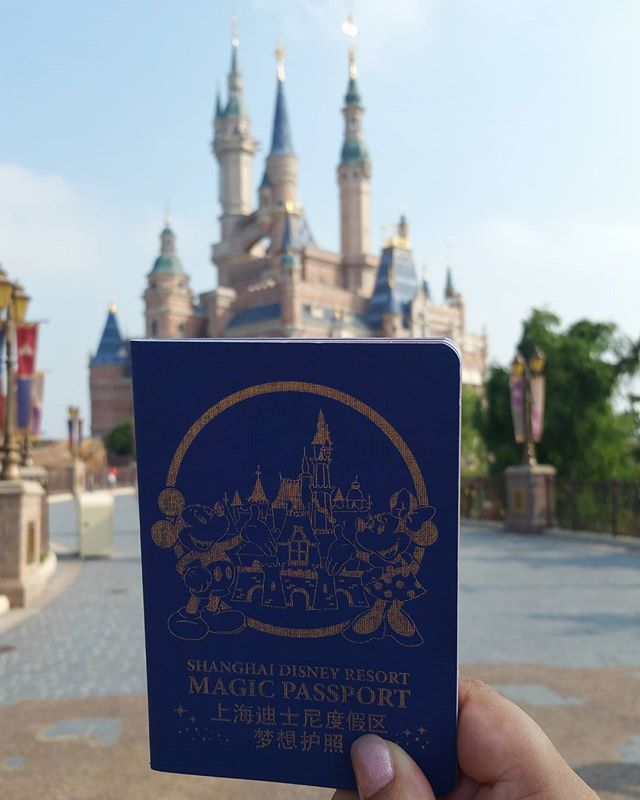 Erik and I are ready to explore Shanghai Disney with our magic passports 💫 . . . . #honeymoon #amazing #Shanghai #China #ShanghaiDisneyland #Disneyland #DisneyParks @visitchina #VisitChina #awesome #liveadventurously #theoutbound #traveltuesday #awesome #adventure #liveauthentic #trip #travel #travelgram #traveling #travelblog  #travelphotography #instapassport @disneylandshanghai #passionpassport #instatravel #wanderlust #wandering #welivetoexplore #exploremore #neverstopexploring #summer