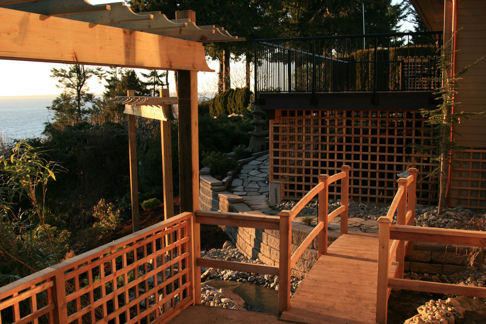 Beautify your   BACKYARD RETREAT    Our portfolio