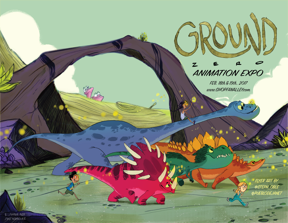 Annual Ground Zero Animation EXPO 2017
