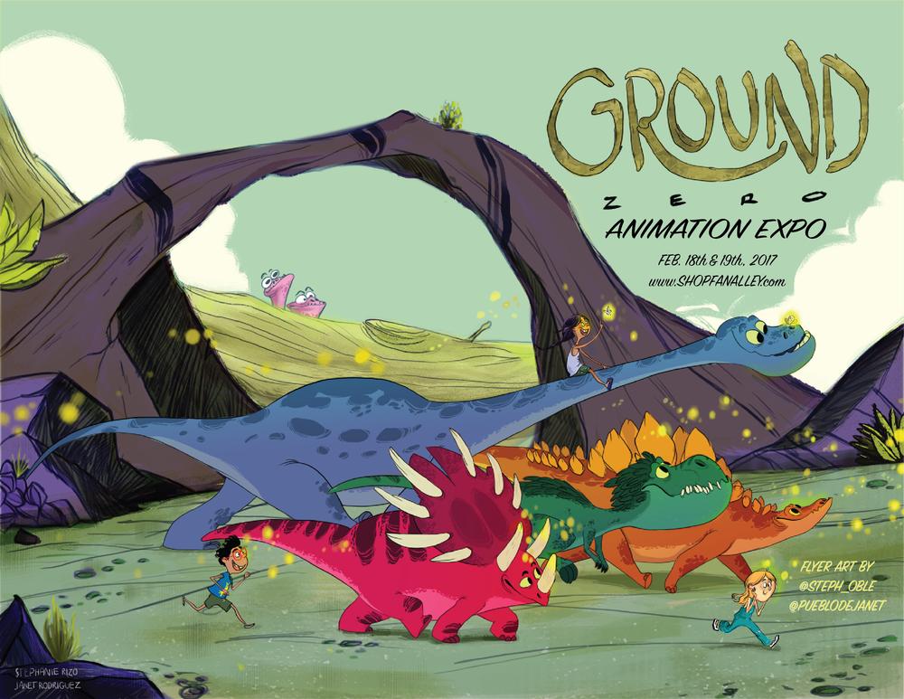 Annual Ground Zero Animation EXPO 2017