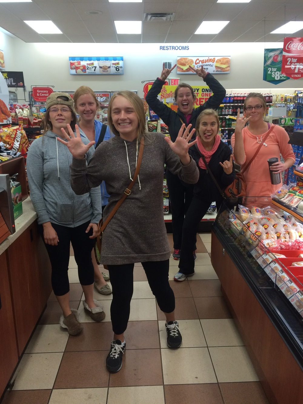 Grocery store stop